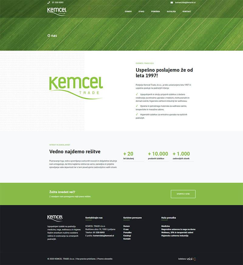 Referenca izdelave - Kemcel